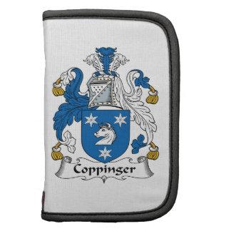 Escudo de la familia de Coppinger Planificadores