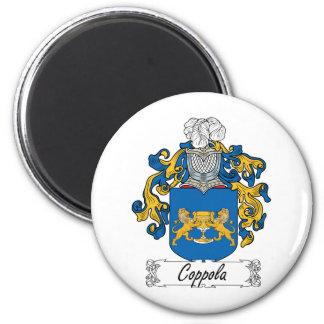 Escudo de la familia de Coppola Imán Redondo 5 Cm