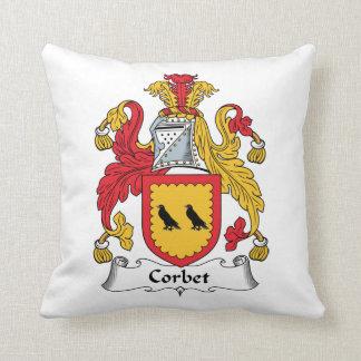 Escudo de la familia de Corbet Cojines