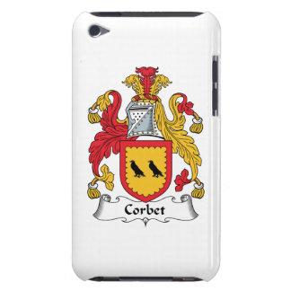 Escudo de la familia de Corbet iPod Case-Mate Fundas