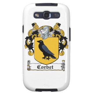 Escudo de la familia de Corbet Samsung Galaxy S3 Cobertura