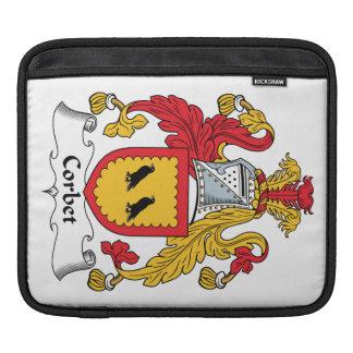 Escudo de la familia de Corbet Fundas Para iPads
