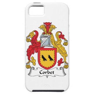 Escudo de la familia de Corbet iPhone 5 Fundas