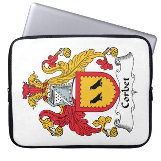 Escudo de la familia de Corbet Mangas Computadora