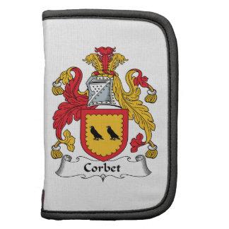 Escudo de la familia de Corbet Planificadores