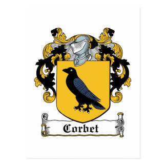 Escudo de la familia de Corbet Postal