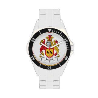 Escudo de la familia de Corbet Reloj De Mano