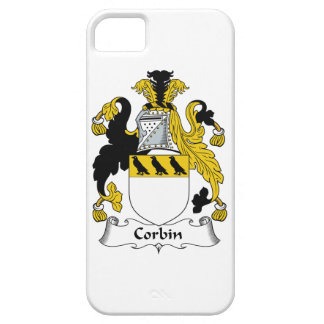 Escudo de la familia de Corbin iPhone 5 Case-Mate Protector
