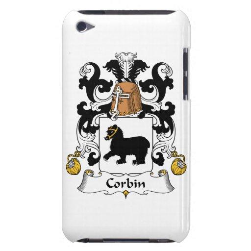 Escudo de la familia de Corbin Case-Mate iPod Touch Cárcasas