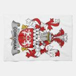 Escudo de la familia de Corcoran Toalla De Mano