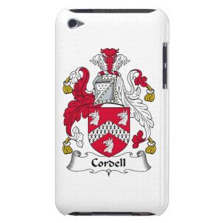 Escudo de la familia de Cordell iPod Touch Coberturas