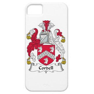 Escudo de la familia de Cordell iPhone 5 Case-Mate Fundas