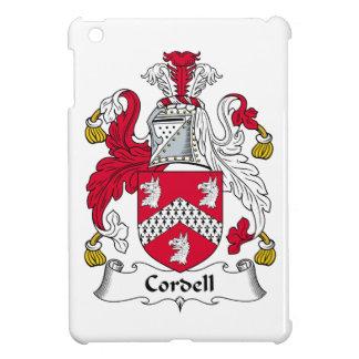 Escudo de la familia de Cordell iPad Mini Cobertura