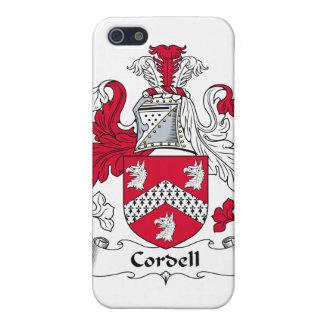 Escudo de la familia de Cordell iPhone 5 Cárcasas