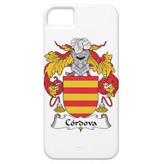 Escudo de la familia de Cordova iPhone 5 Case-Mate Carcasa