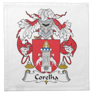 Escudo de la familia de Corelha Servilletas