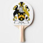 Escudo de la familia de Corey Pala De Ping Pong
