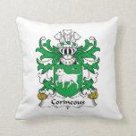 Escudo de la familia de Corineous Cojin