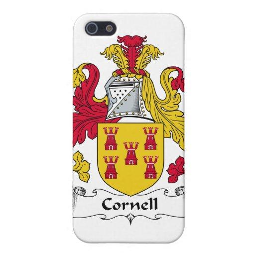 Escudo de la familia de Cornell iPhone 5 Funda