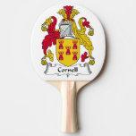 Escudo de la familia de Cornell Pala De Tenis De Mesa