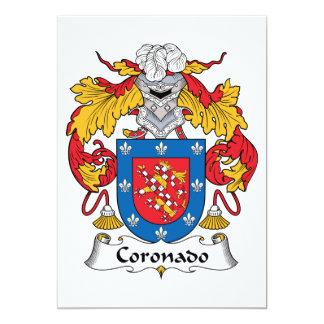 Escudo de la familia de Coronado Comunicados Personales