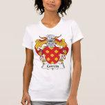 Escudo de la familia de Correia Camisetas