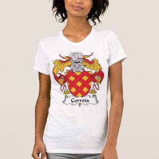 Escudo de la familia de Correia T-shirt