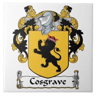Escudo de la familia de Cosgrave Azulejos Cerámicos