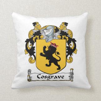 Escudo de la familia de Cosgrave Cojines
