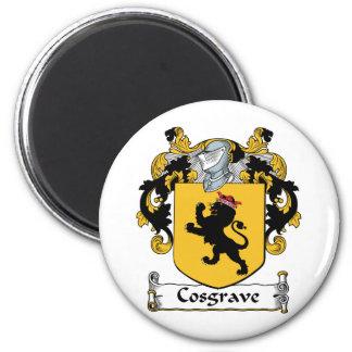 Escudo de la familia de Cosgrave Imán Para Frigorifico