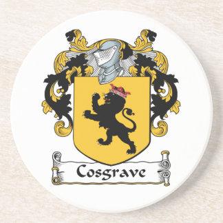 Escudo de la familia de Cosgrave Posavaso Para Bebida