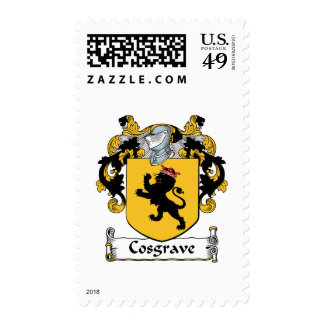 Escudo de la familia de Cosgrave Sellos