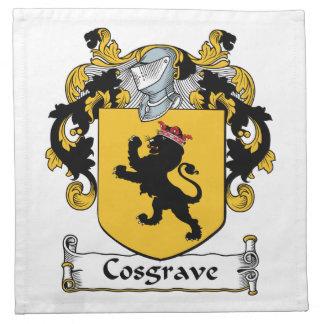Escudo de la familia de Cosgrave Servilletas De Papel