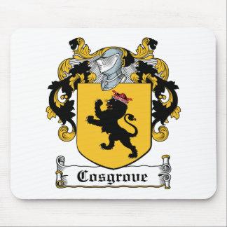 Escudo de la familia de Cosgrove Mouse Pads