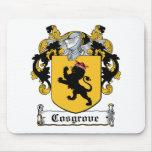 Escudo de la familia de Cosgrove Alfombrilla De Ratón