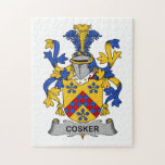 Escudo de la familia de Cosker Rompecabeza