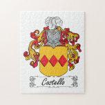 Escudo de la familia de Costello Puzzle