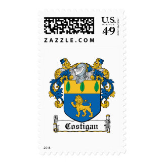 Escudo de la familia de Costigan Franqueo