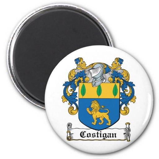 Escudo de la familia de Costigan Imán Redondo 5 Cm