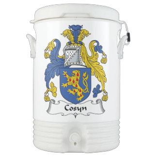 Escudo de la familia de Cosyn Vaso Enfriador Igloo