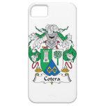 Escudo de la familia de Cotera iPhone 5 Carcasas
