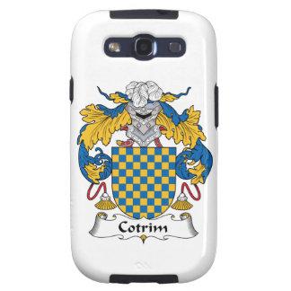 Escudo de la familia de Cotrim Galaxy S3 Carcasa