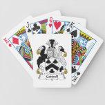 Escudo de la familia de Cottrell Baraja Cartas De Poker