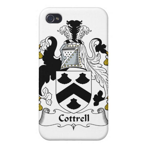 Escudo de la familia de Cottrell iPhone 4 Cárcasa