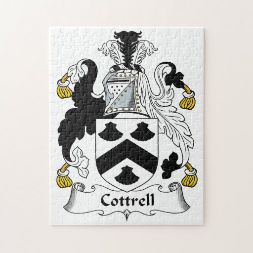 Escudo de la familia de Cottrell Rompecabezas