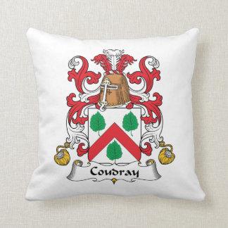 Escudo de la familia de Coudray Almohada