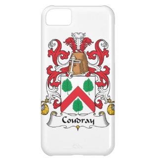 Escudo de la familia de Coudray Funda Para iPhone 5C