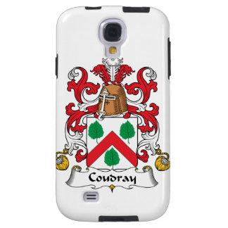 Escudo de la familia de Coudray Funda Para Galaxy S4