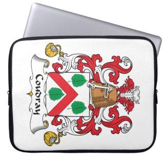 Escudo de la familia de Coudray Fundas Ordendadores