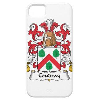Escudo de la familia de Coudray iPhone 5 Funda